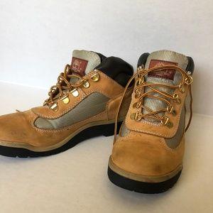 6143e9b1eeaf Timberland Shoes - Boys (Big Kid) Tan Timberland Field Boot 15945